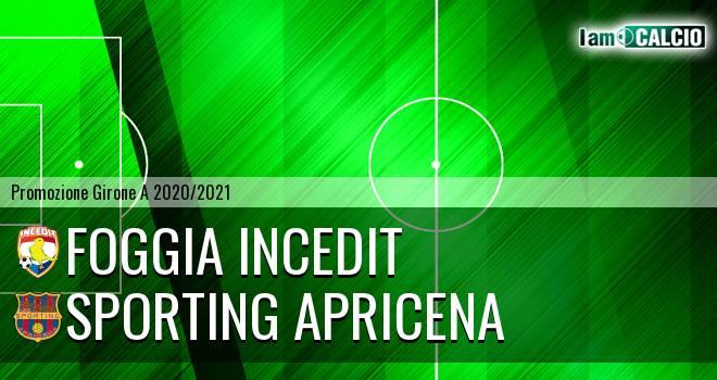 Foggia Incedit - Sporting Apricena