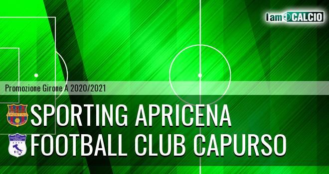 Sporting Apricena - Football Club Capurso