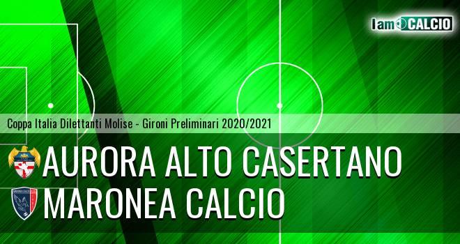 Aurora Alto Casertano - Maronea Calcio