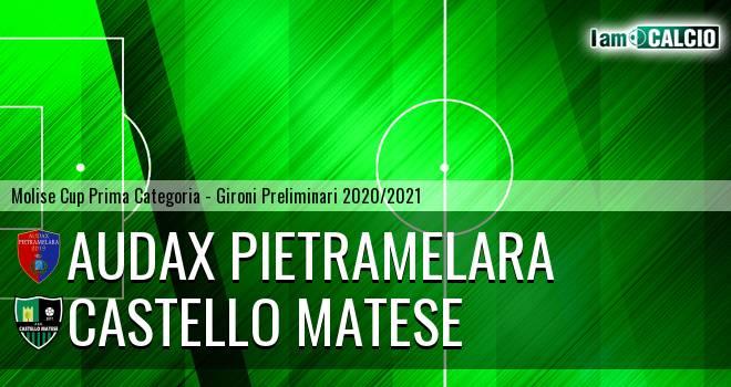 Audax Pietramelara - Castello Matese
