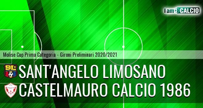 Sant'Angelo Limosano - Castelmauro Calcio 1986
