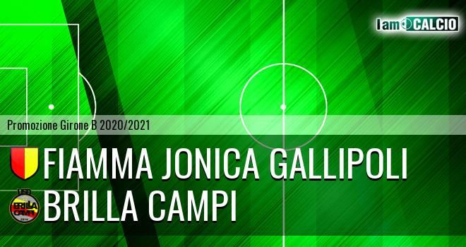 Fiamma Jonica Gallipoli - Brilla Campi