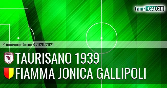 Taurisano 1939 - Fiamma Jonica Gallipoli