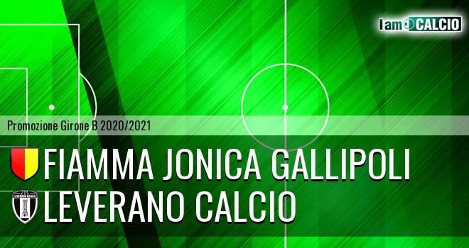 Fiamma Jonica Gallipoli - Leverano Calcio