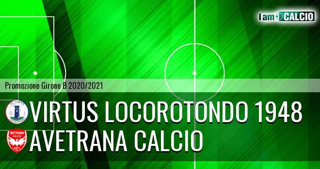 Virtus Locorotondo 1948 - Avetrana Calcio