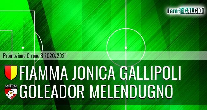 Fiamma Jonica Gallipoli - Goleador Melendugno