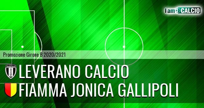 Leverano Calcio - Fiamma Jonica Gallipoli