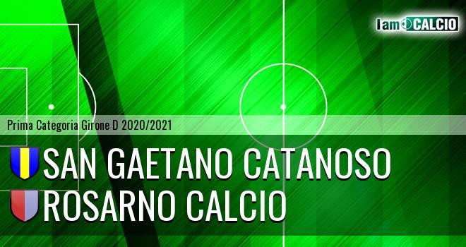 San Gaetano Catanoso - Rosarno Calcio
