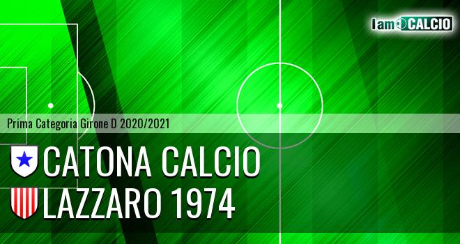 Catona Calcio - Lazzaro 1974
