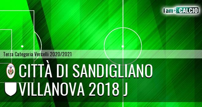 Città di Sandigliano - Villanova 2018 J