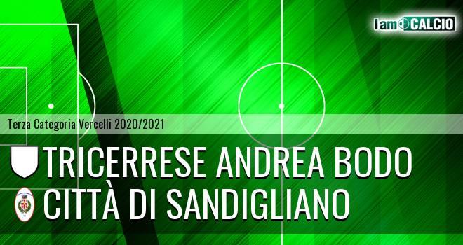 Tricerrese Andrea Bodo - Città di Sandigliano