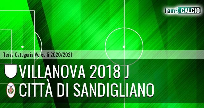 Villanova 2018 J - Città di Sandigliano