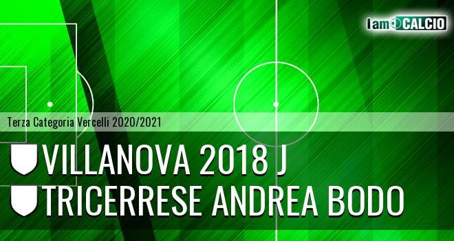 Villanova 2018 J - Tricerrese Andrea Bodo