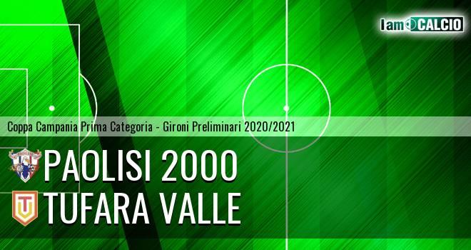 Paolisi 2000 - Tufara Valle
