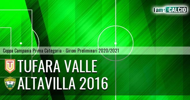 Tufara Valle - Altavilla 2016