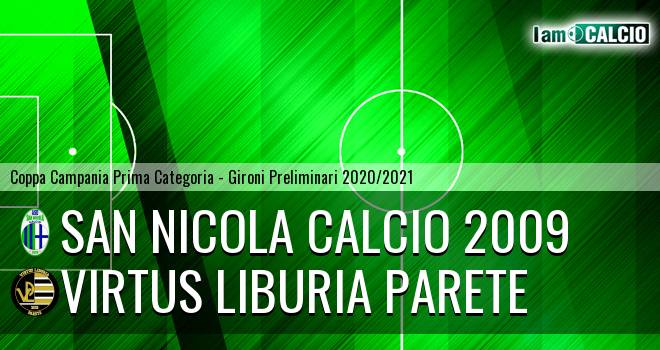 San Nicola Calcio 2009 - Virtus Liburia Parete
