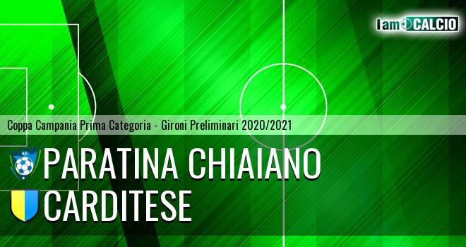 Paratina Chiaiano - Carditese