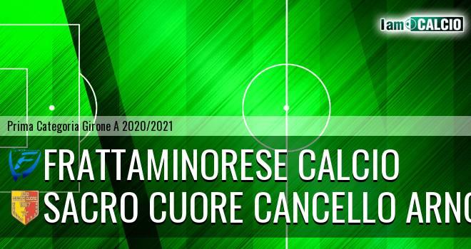 Frattaminorese Calcio - Sacro Cuore Cancello Arnone