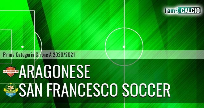 Aragonese - San Francesco Soccer