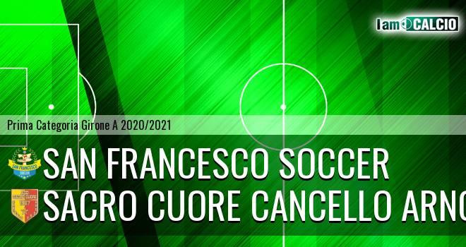 San Francesco Soccer - Sacro Cuore Cancello Arnone