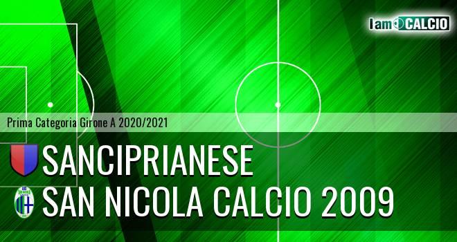 Sanciprianese - San Nicola Calcio 2009