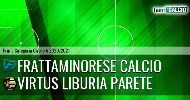 Frattaminorese Calcio - Virtus Liburia Parete