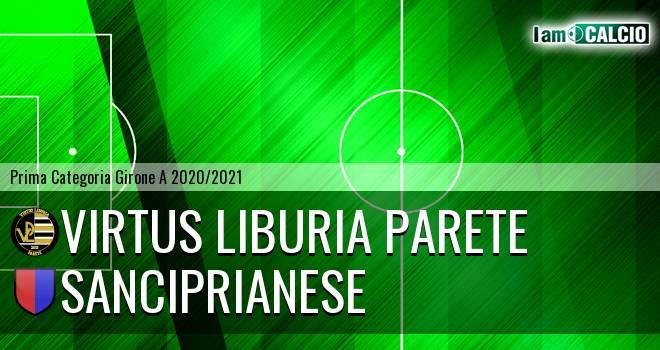 Virtus Liburia Parete - Sanciprianese