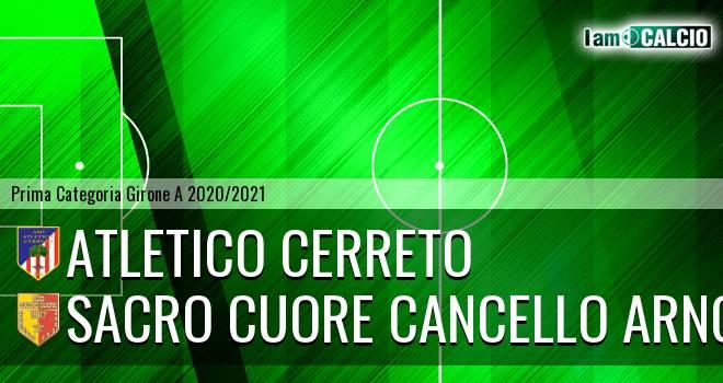 Atletico Cerreto - Sacro Cuore Cancello Arnone
