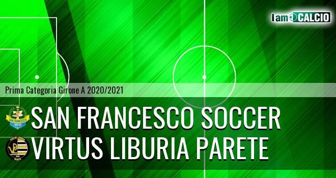 San Francesco Soccer - Virtus Liburia Parete