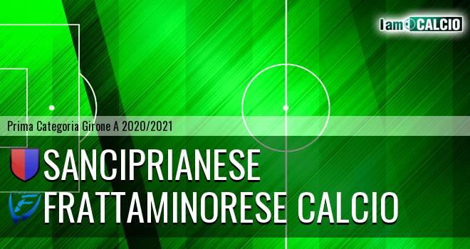 Sanciprianese - Frattaminorese Calcio