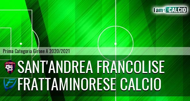 Sant'Andrea Francolise - Frattaminorese Calcio
