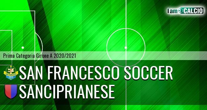 San Francesco Soccer - Sanciprianese