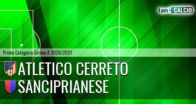 Atletico Cerreto - Sanciprianese