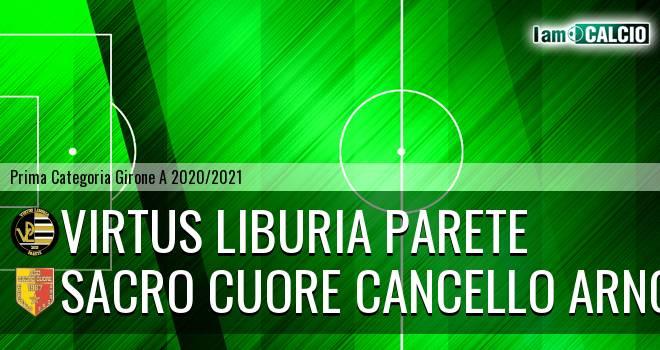 Virtus Liburia Parete - Sacro Cuore Cancello Arnone