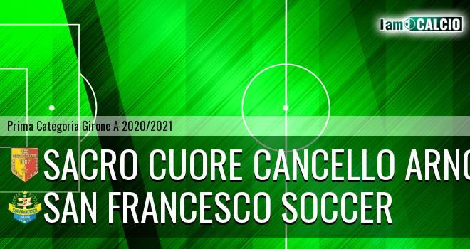 Sacro Cuore Cancello Arnone - San Francesco Soccer