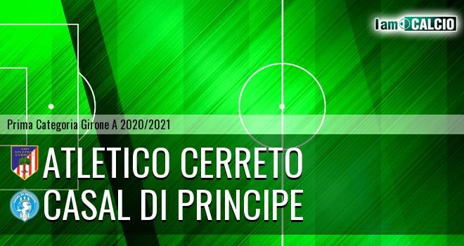 Atletico Cerreto - Casal di Principe