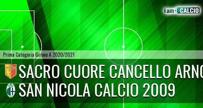 Sacro Cuore Cancello Arnone - San Nicola Calcio 2009