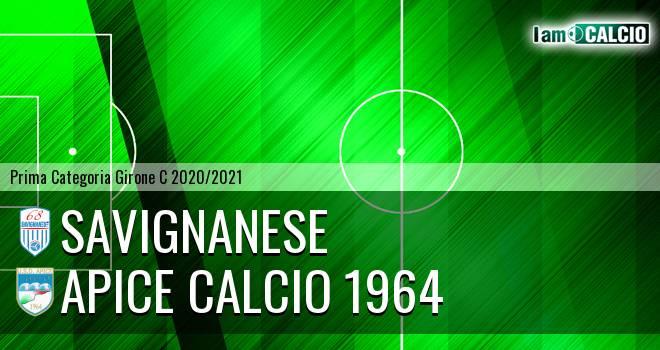 Savignanese - Apice Calcio 1964