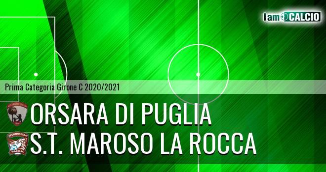 Orsara di Puglia - S.T. Maroso La Rocca