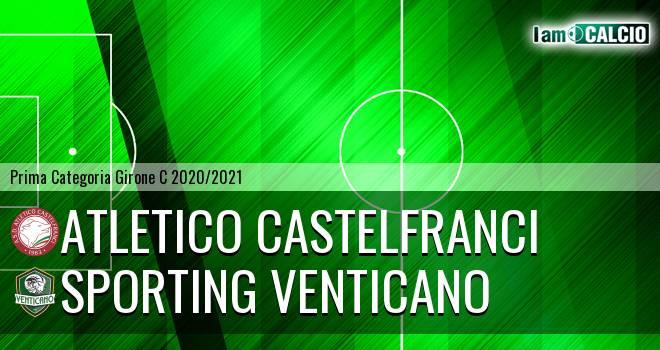 Atletico Castelfranci - Sporting Venticano