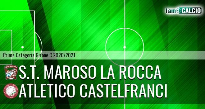 S.T. Maroso La Rocca - Atletico Castelfranci