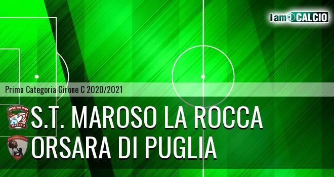 S.T. Maroso La Rocca - Orsara di Puglia