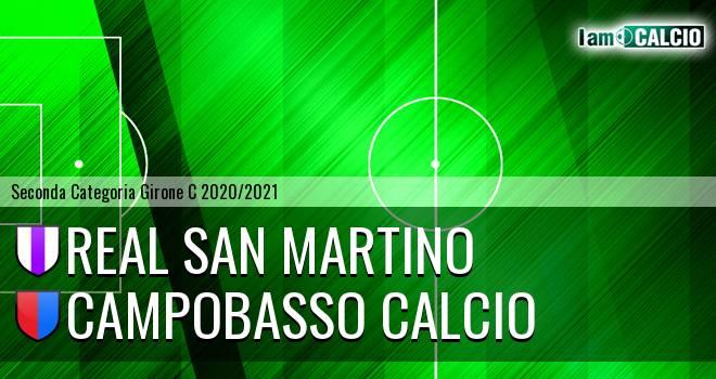 Real San Martino - Campobasso Calcio