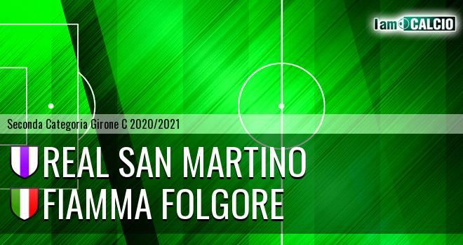 Real San Martino - Fiamma Folgore