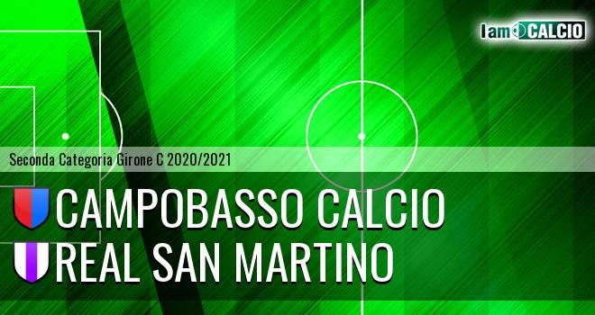 Campobasso Calcio - Real San Martino