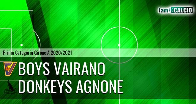 Boys Vairano - Donkeys Agnone