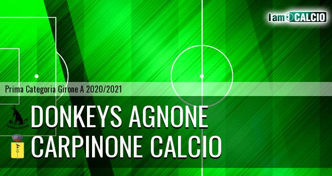 Donkeys Agnone - Carpinone Calcio