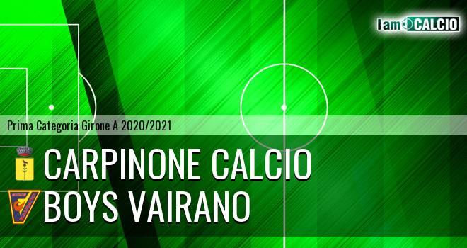 Carpinone Calcio - Boys Vairano