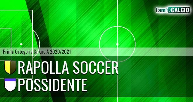 Rapolla Soccer - Possidente