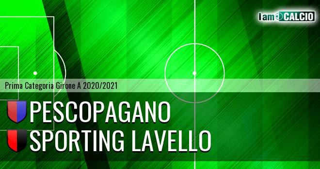 Pescopagano - Sporting Lavello
